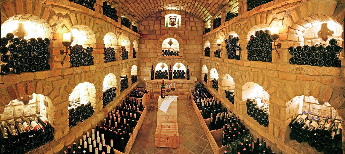 Wine Cellar of Gutshofzillertal Hotel, Mayrhofen (photo)