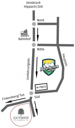 Arriving map (image)